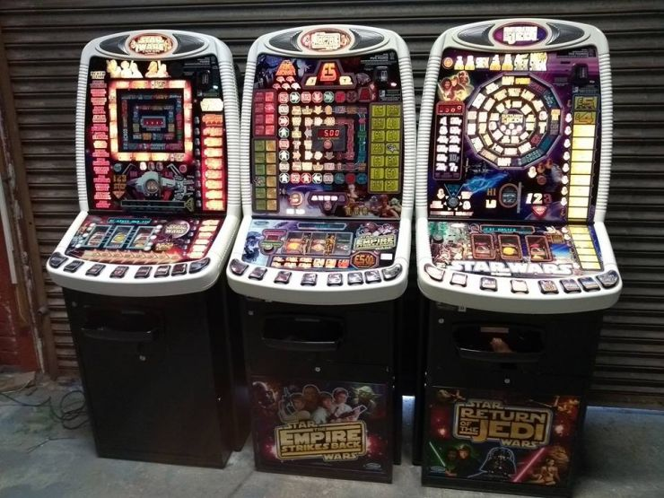 Star Wars Trilogy Fruit Machines