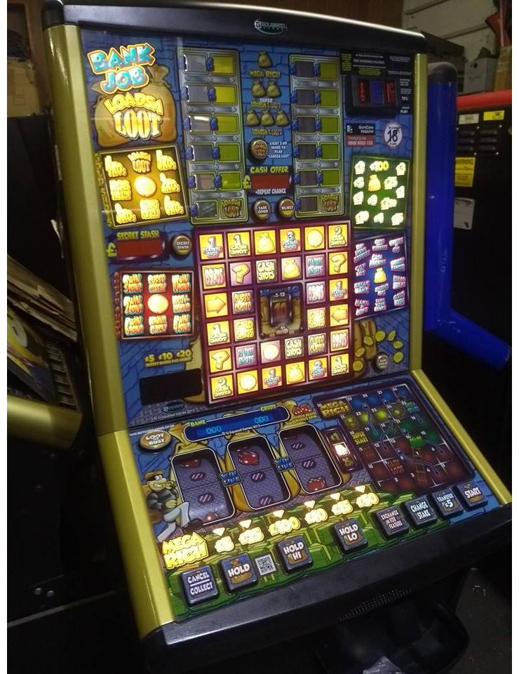 Bank Job - Latest £100 Jackpot Pub Fruit Machine