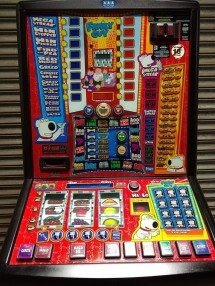 Family Guy, The Drunken Clam - Latest £100 Pub Fruit Machine - Note Acceptor