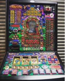 Alice`s Wonderland - Latest £100 Jackpot Pub Fruit Machine